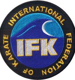 INTERNATIONAL FEDERATION OF KARATE (IFK) LOGO BORDURING