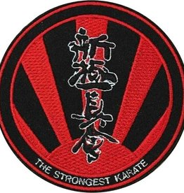 SHINKYOKUSHINKAI THE STRONGEST KARATE LOGO EMBROIDERY