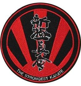 SHINKYOKUSHINKAI THE STRONGEST KARATE LOGO EMBROIDERY