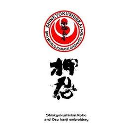 NPO SHINKYOKUSHIN KOKORO AND KANJI EMBROIDERY