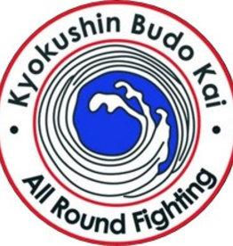 IBK KYOKUSHINKAI BUDOKAI - ALL ROUND FIGHTING LOGO BORDURING