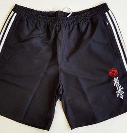 Adidas Adidas T16 Team Short Men Zwart/Wit-Kyokushin