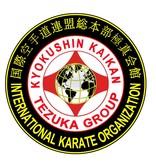 IKO4 TEZUKA GROUP KYOKUSHIN KAIKAN LOGO EMBROIDERY
