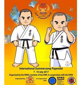 ISAMU 勇ISAMU NKKO/KWF-50th  Anniversary Summer Camp Gi