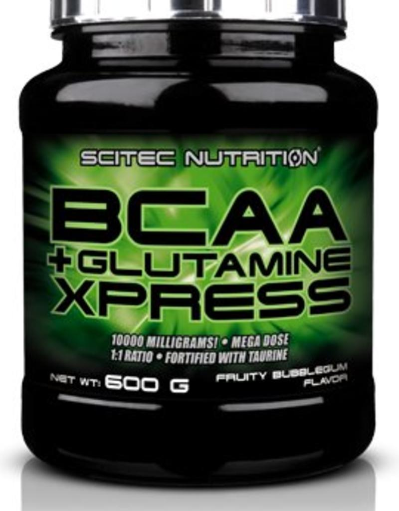SCITEC NUTRITION Scitec BCAA + Glutamine Xpress 600gr Bubbelgum flavor