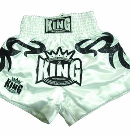 King Professional King kickbox tribal short white XL