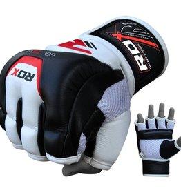RDX MMA Leren trainings handschoenen met gel