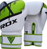 RDX SPORTS (Kick)Boks handschoenen F7 - greon & rood(Kick)Boks handschoenen F7 - groen & rood