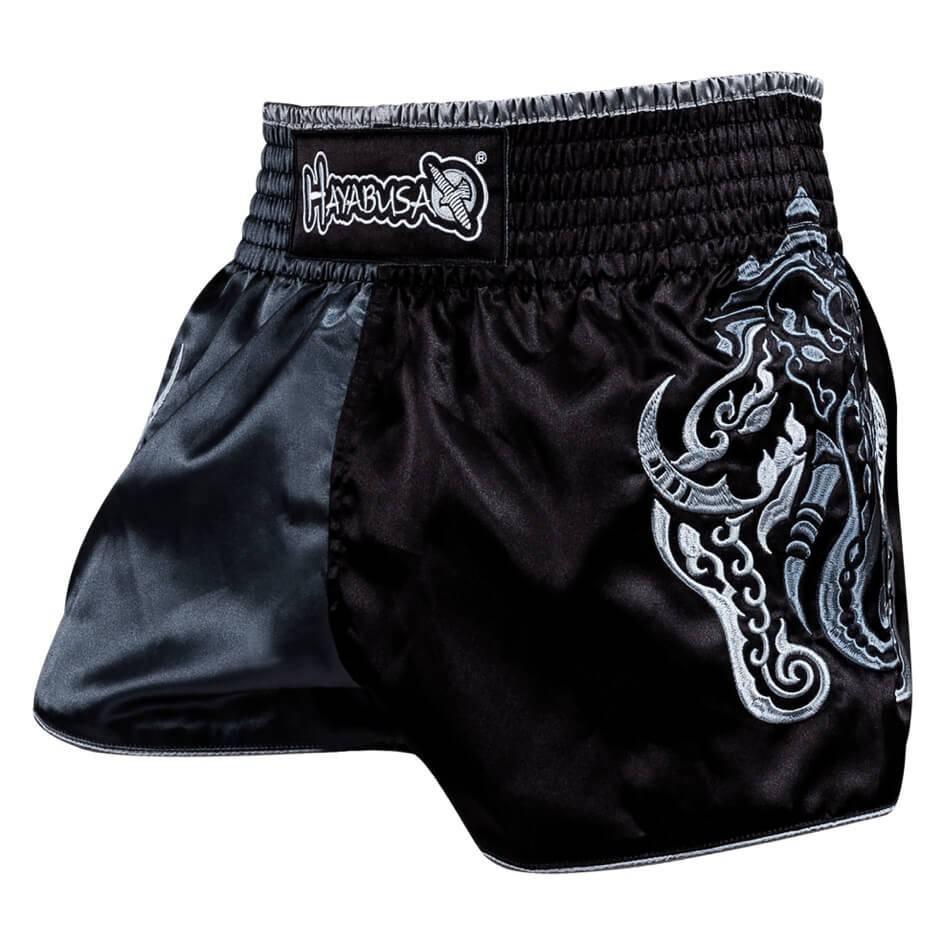 Wisdom Muay Thai (kick)boxing Shorts - Grey - Kyokushinworldshop