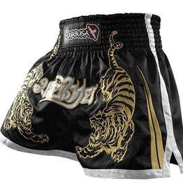 HAYABUSA Premium Muay Thai (kick)boks broekje - Zwart