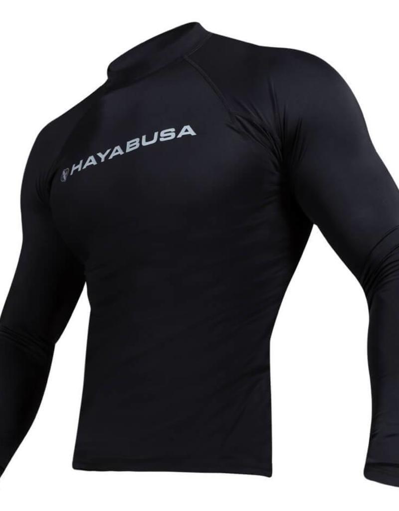 HAYABUSA HAYABUSA Haburi Longsleeve Rashguard - Black
