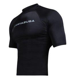HAYABUSA Haburi Korte mouwen Rashguard shirt - Zwart
