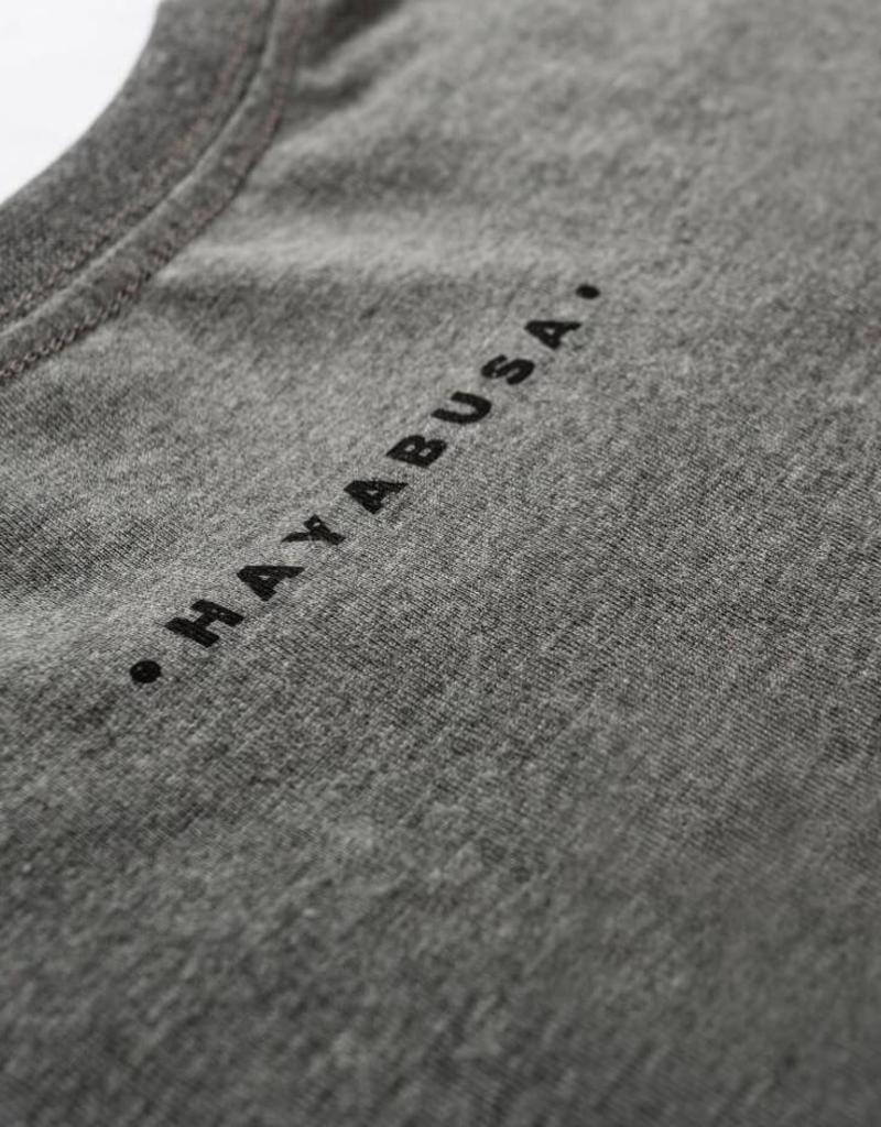 HAYABUSA HAYABUSA Classic Spirit of the Fighter Shirt - Grijs