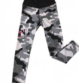 Isamu sportswear Isamu Camo Grey Sports Legging