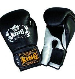 Top King (Kick)Boxing Gloves Super Air Black