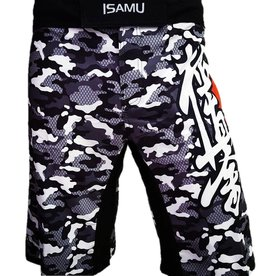 ISAMU Isamu Kyokushin Shorts - Camo Grijs OP=OP