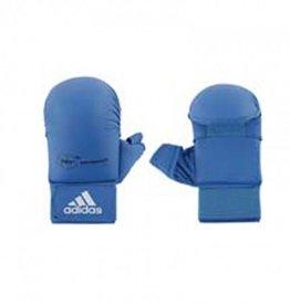 Adidas WKF Semi contact Karatehandschoen Met Duim Blauw