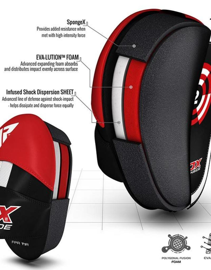 RDX SPORTS RDX T1 RED BOXING PADS