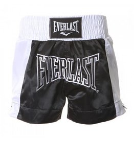 Everlast Thai boxing short Black/White