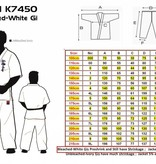 ISAMU ISAMU SHIN KYOKUSHINKAI Superior Karate GI Bright White - K7450