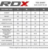 RDX SPORTS RDX LOGO MEN'S SHORT SLEEVE T-SHIRT - Black