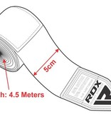 RDX SPORTS RDX HAND WRAPS BANDAGES 450CM - CAMO GREY