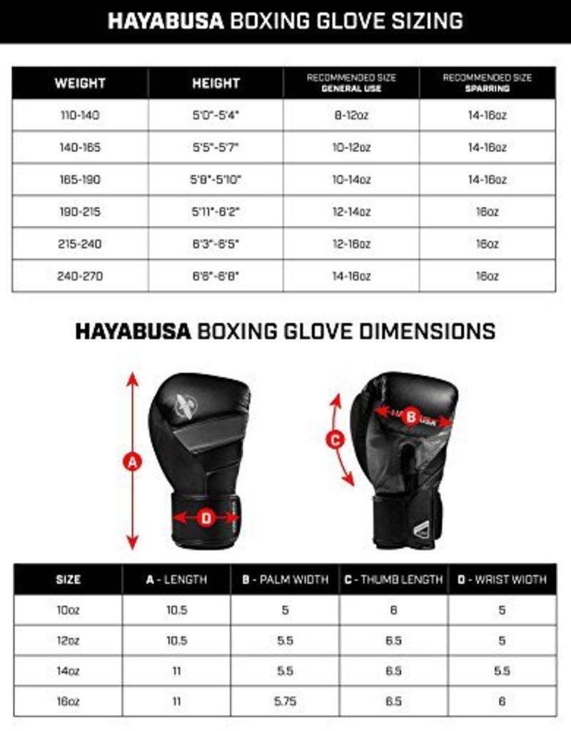 HAYABUSA HAYABUSA Sport 16oz boxhandschoenen - Wit/Zwart