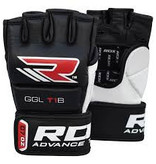 RDX SPORTS RDX T1 LEATHER MMA GLOVES
