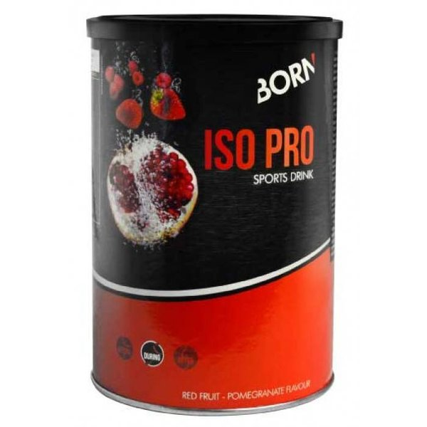 Born Iso Pro Sports Drink (400gr) Red Fruit - Pomme Granate