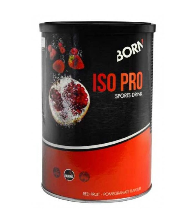 Born Born Iso Pro Sports Drink (400gr) Red Fruit - Pomme Granate