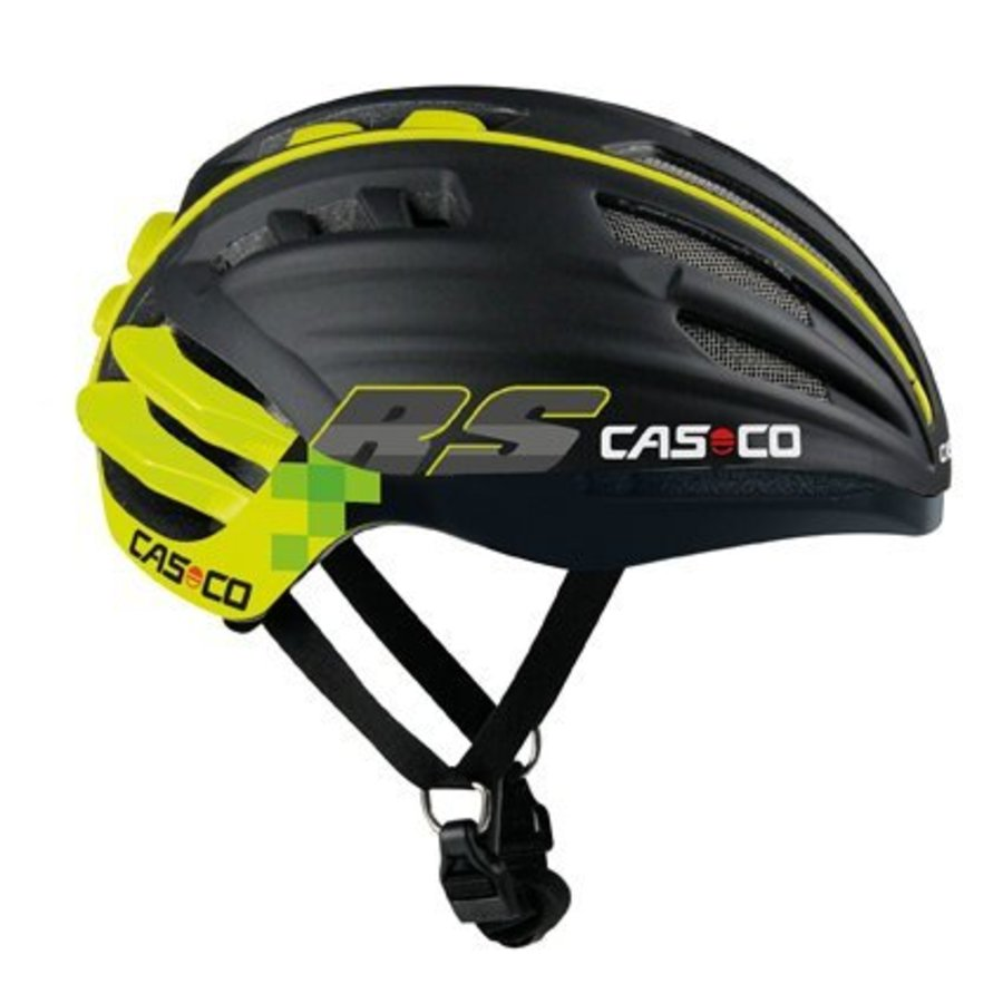 Casco SpeedAiro RS Black - Lime (vautron visor)-2