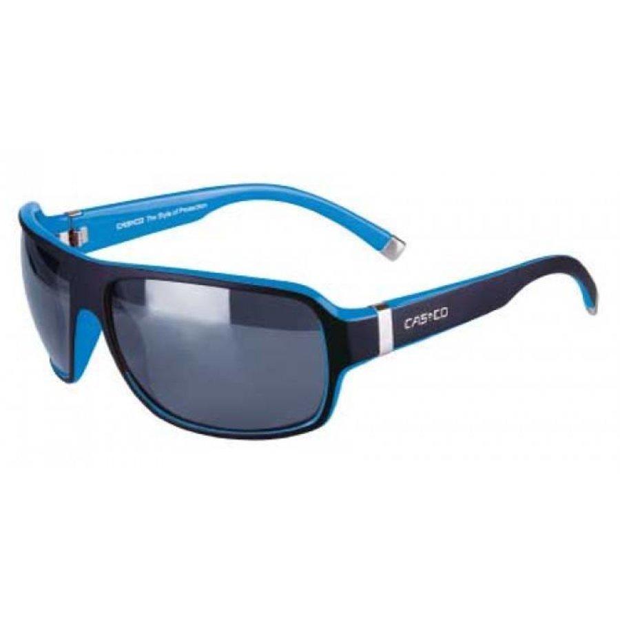 Lunettes de soleil Casco SX61 Bicolor Noir Bleu