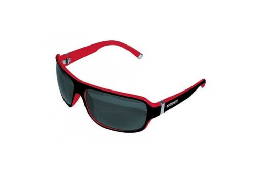 Casco SX61 Bicolor Sunglasses Black-Red