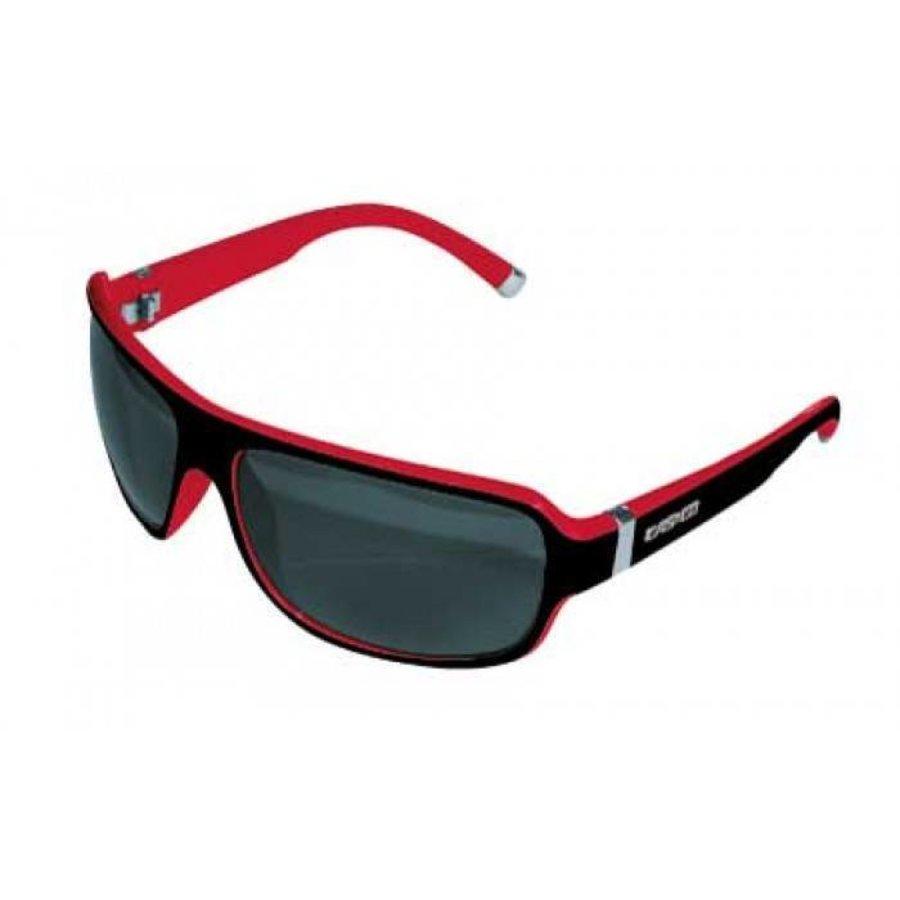 Casco SX61 Bicolor Sunglasses Black-Red-1