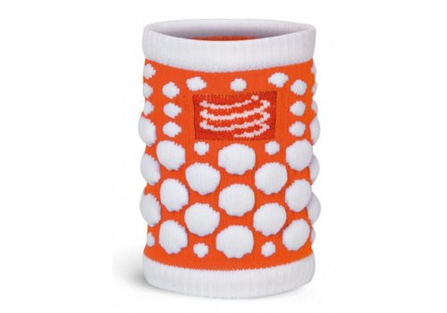 Compressport 3D Zweetband Oranje