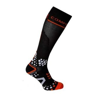 Compressport Compressport Full Socks Zwart 3D. DOT (V2)