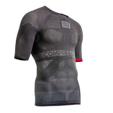 Compressport Compressport ON/OFF Multisport ondershirt korte mouwen Grijs