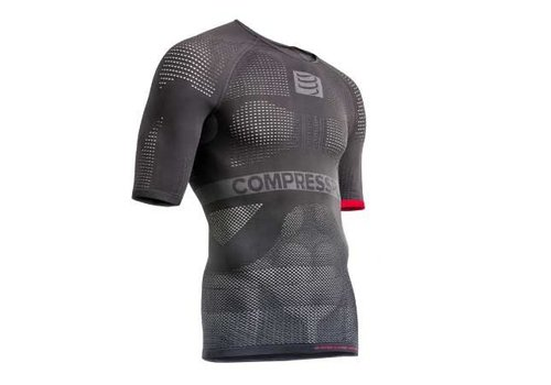 Compressport ON/OFF Multisport ondershirt korte mouwen Grijs