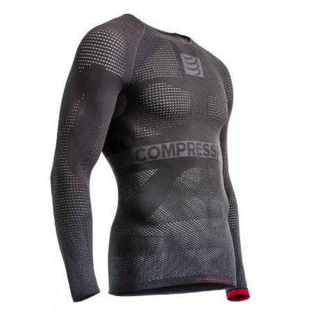 Compressport Compressport ON/OFF Multisport ondershirt lange mouwen Grijs