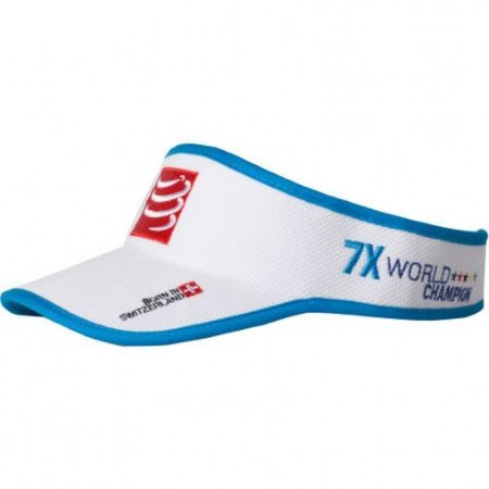 Compressport Compressport Visorcap Wit/Blauw