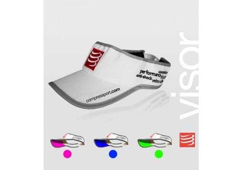 Compressport Visorcap Wit/Groen