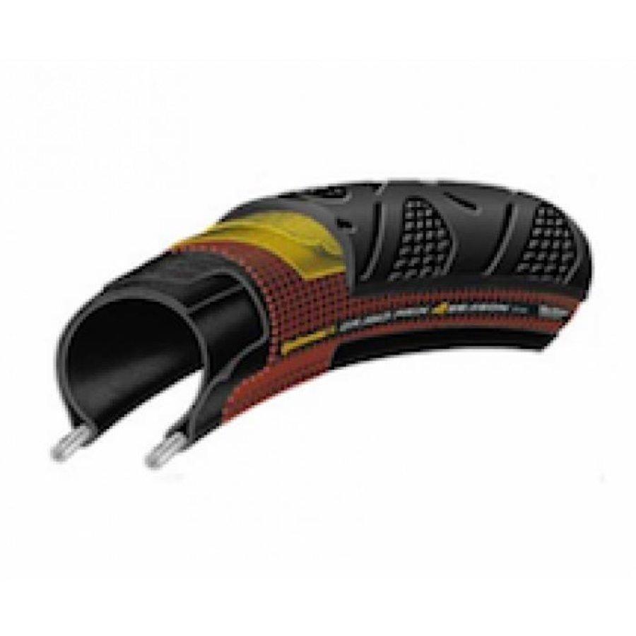 Continental Grand Prix 4 saisons (noir) pneumatique pliable