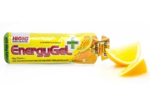 High5 Energygel Plus Cafeine (38gr) Courte date de DDM
