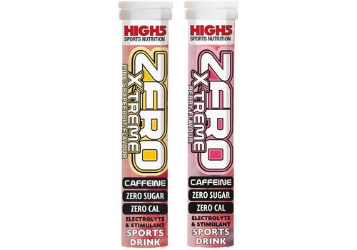 Boisson d'électrolyte d'hydration de High5 ZERO XTREME (20 onglets)