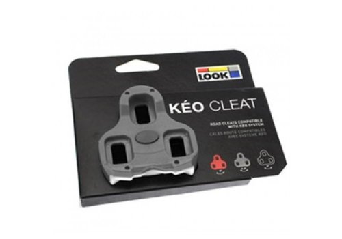 Look Keo Schoenplaat (Grijs)