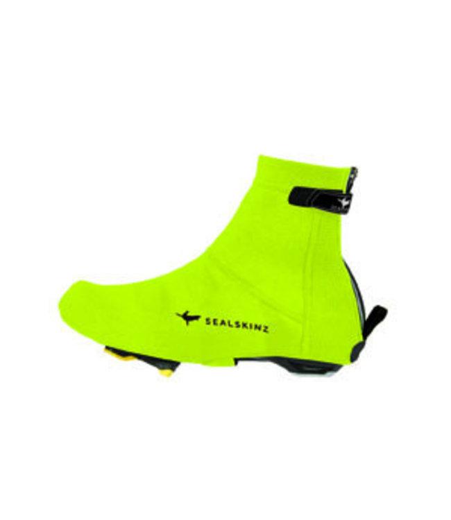 Sealskinz Couvre-chaussures Sealskinz Open Sole en néoprène, jaune vif