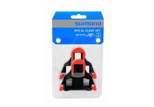 ShiHommeso SM-SH10 SPD SL Schoenplaat (Rood)