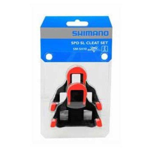 Shimano Shimano SM-SH10 SPD SL Schoenplaat (Rood)
