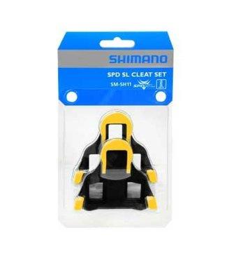 Shimano Shimano SM-SH11 SPD SL Cleat (Yellow)