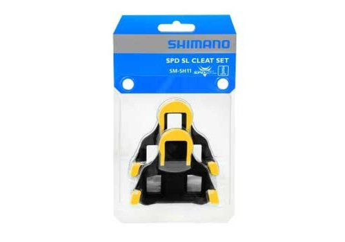 Shimano SM-SH11 SPD SL Cleat (Yellow)